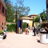 The Guggenheim Collection Garden you will see with our tour