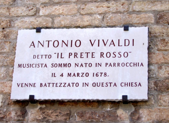 Music in Venice private guided tour: see where Antonio Vivaldi was born