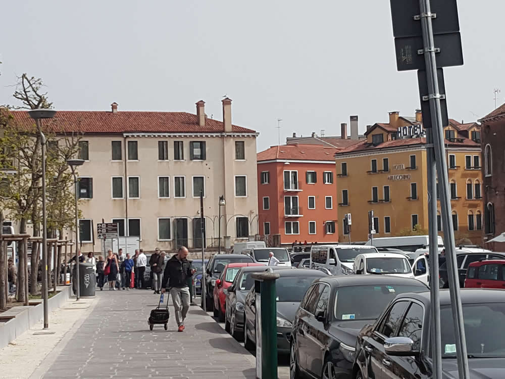 Venice Car Terminal transfer with Venice Guide and Boat