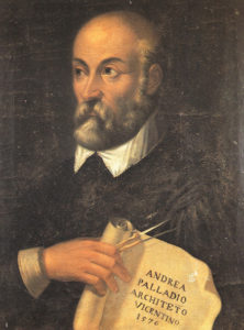 Portrait of Andrea Palladio, the greatest architect of the Western world