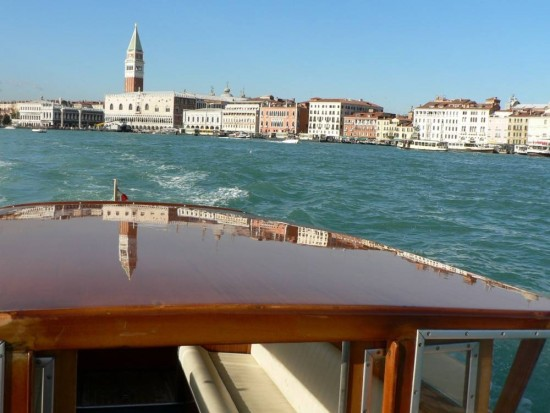 Venice with less walking private guided boat tour