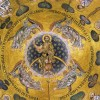 Mosaic of the Ascension of Christ on the ceiling of St. Mark's Basilica which will be described by your guide with Relaxing Venice tour