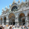 With Relaxing Venice tour you will see the Basilica of St Mark, which appears on this picture seen from the Square of Saint Mark