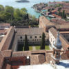 Palladio built the church of San Giorgio and also the beautiful cloister you can admire from the belltower