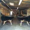 Gondola dockyard in Venice