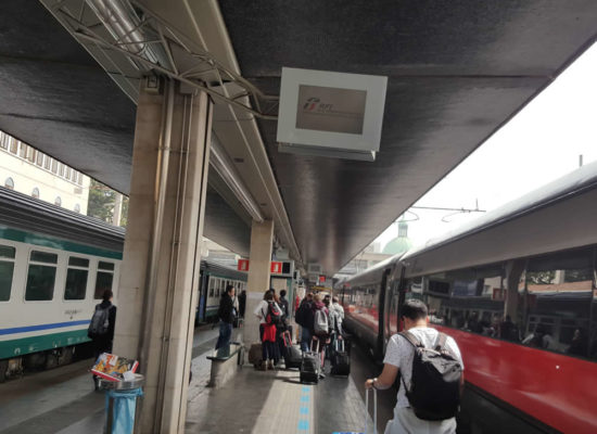 Venice transfer from hotel to train station