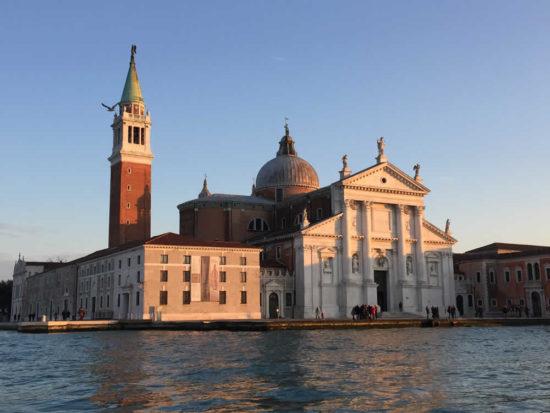 Palladio and Venice tour takes to visit San Giorgio Maggiore island