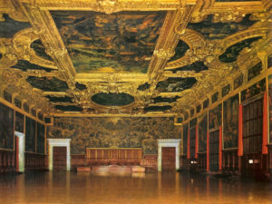 Discover the history of Venice through the paintings in the Doge's Palace with our Venice Tour
